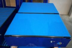 Nastri trasportatori a tappeto modulare